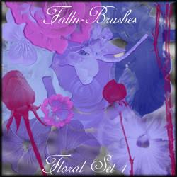 Floral Brushes Set 1