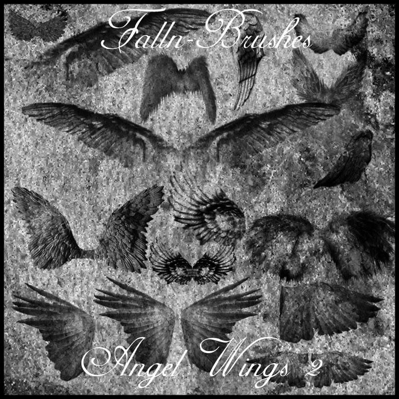 Angel Wings 2 by Falln-Stock