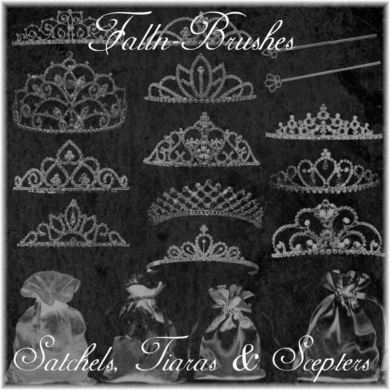 Princess Things Brushes Set by Falln-Stock