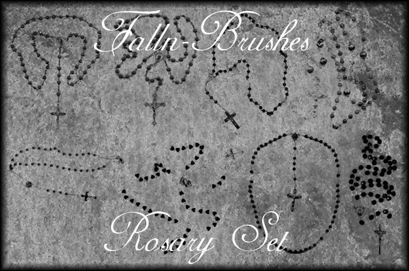 Rosary Brushes Set
