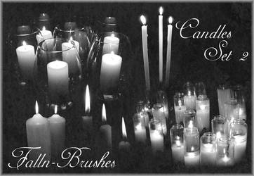 Candles Brushes Set 2