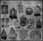 Birdcages Brushes Set 1