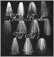 Veil Brushes Set 1 by Falln-Stock