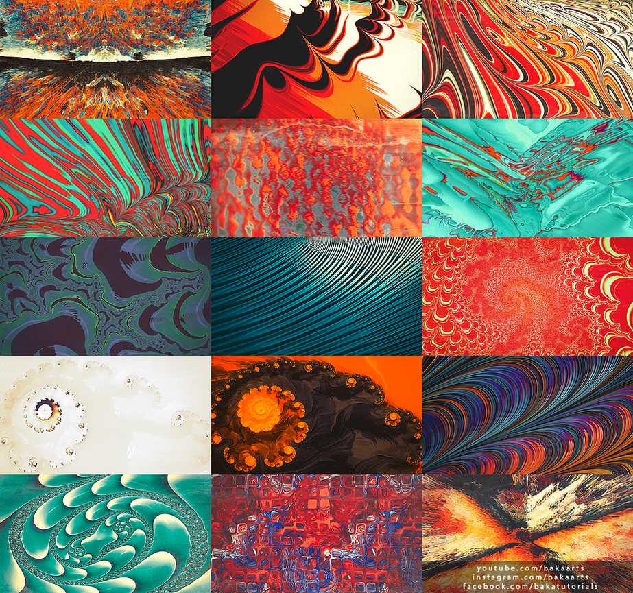 HD Retro Abstract Wallpaper Pack By TheBakaArts On DeviantArt