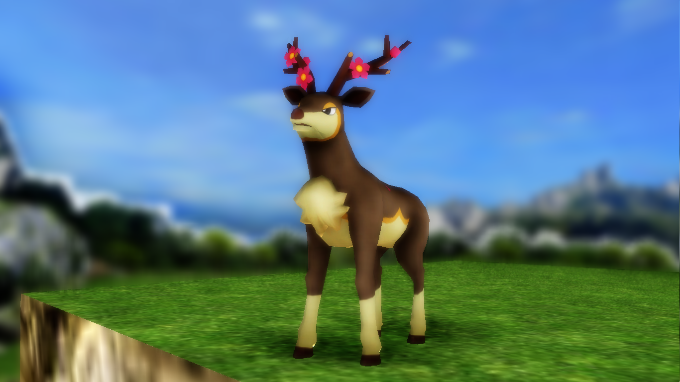 Sawsbuck -spring- .: Download :.