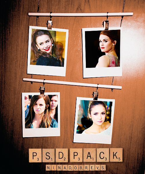 Psd Pack by ninadobrevs