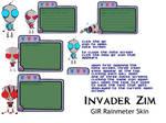 Invader Zim  Rainmeter GIR SKIN