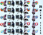 Accel World Browser Icons/Win 8 tiles