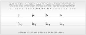 White and Metal Cursors