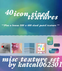 40 Misc Icon Sized Textures