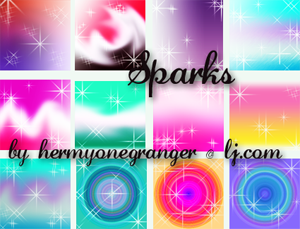 12 Sparkly Gradients by hermyonegranger