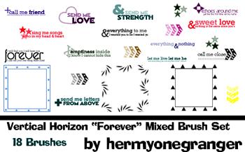 Lyric Brush set 2 by hermyonegranger