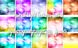 Astrial Light Textures Set 2 by hermyonegranger