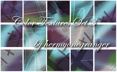 Color Textures Set 3 by hermyonegranger