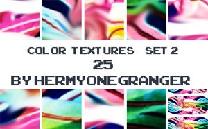 Color Textures Set 2 by hermyonegranger