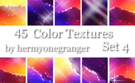 Color Textures Set 4 by hermyonegranger