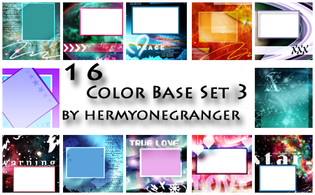 16 Colorbases and or Textures by hermyonegranger