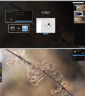 GNOME Shell - E-Lite 2