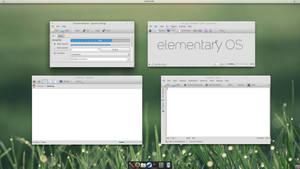 Elementary Luna - QtCurve
