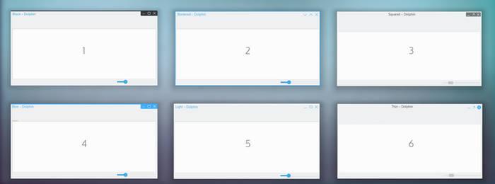 Window Decoration Themes for Plasma Next - ideas