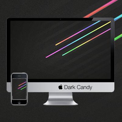 Dark Candy Wallpaper