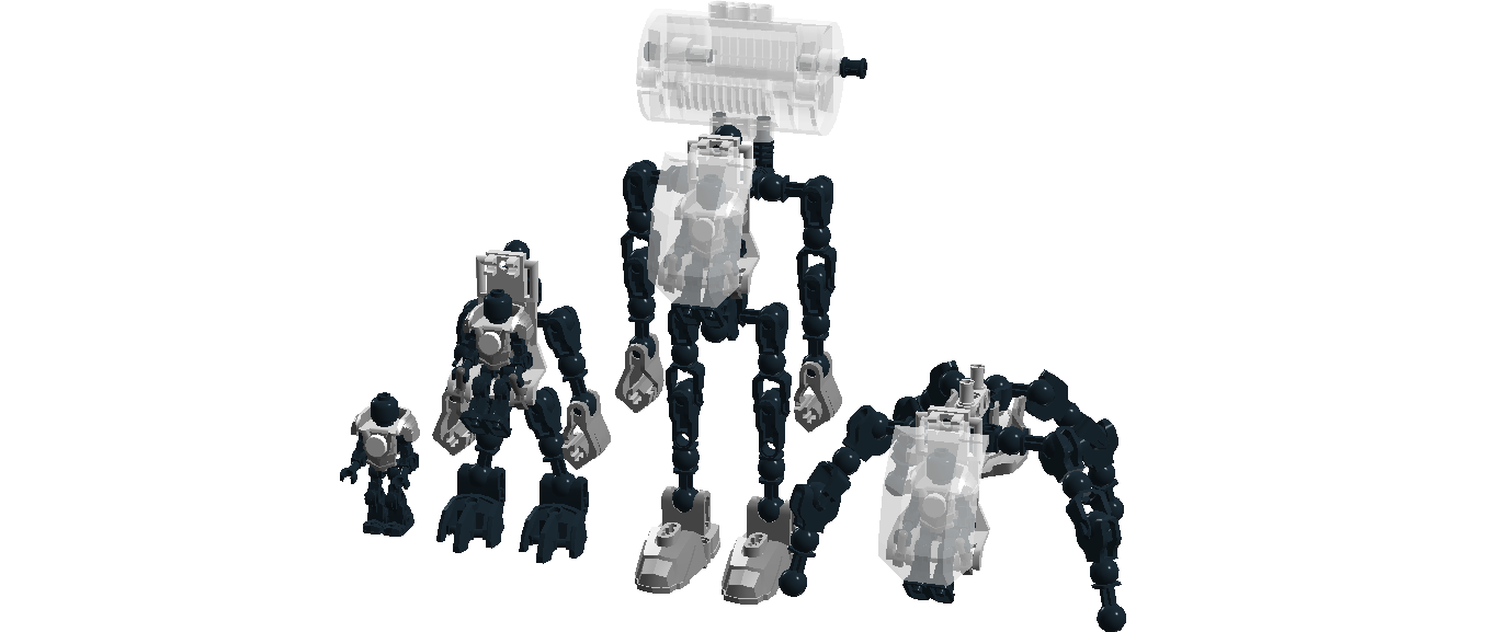 Ldd hero factory template blank mech set by for Lego digital designer templates