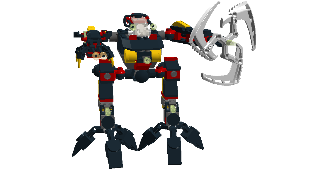 Lego Exo-Force DJ 8116 Jungle Thrasher by Maxustech