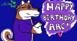 Birthday gift for Arc!