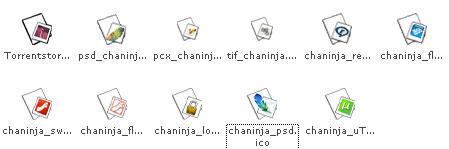 Updated Chaninja Icons by ev0net