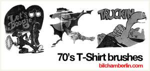 70's T-Shirt Brushes