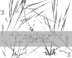 Stock: Acid Lightning Redux Brush Pack by JuriyaShoh