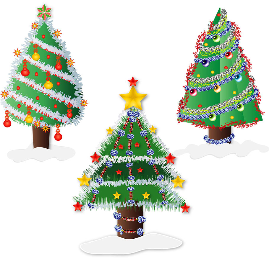Gifts And Tree Coloring Pageoloring Page