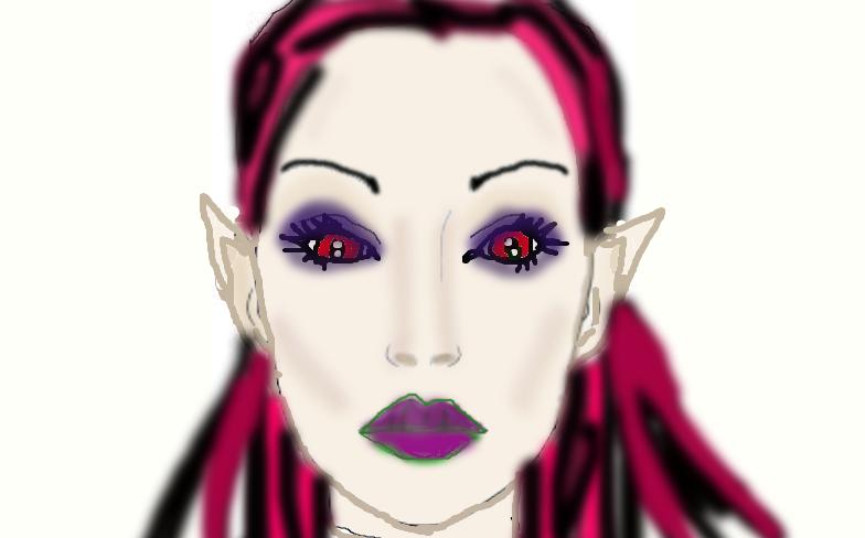 Vampire Woman by kittygirl101202