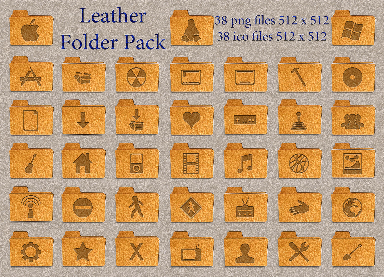 Leather Folder Pack