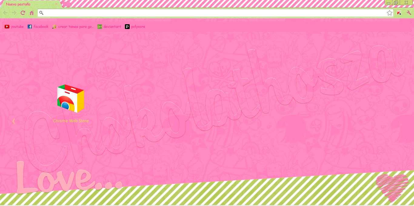 Tema para google chrome :) by Chokolathosza