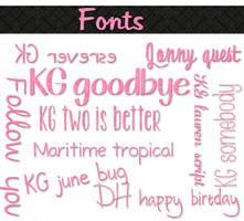 mass fonts by Chokolathosza