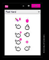 Pixel Hand by Chokolathosza