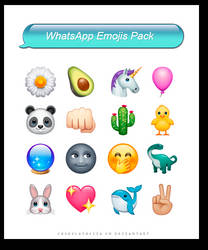 Favorite Emojis Pack by Chokolathosza