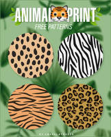 Animal Print Patterns by Chokolathosza