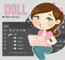 Blogger Doll by Chokolathosza