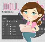 Blogger Doll