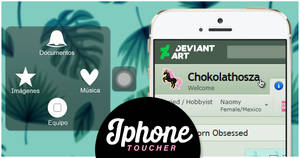 Iphone Toucher Widget