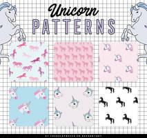 Unicorn Patterns by Chokolathosza