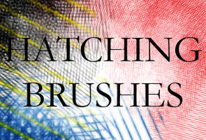 Hatching Brushes by struckdumb