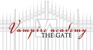 Vampire Academy gate - vector by mitchie-v