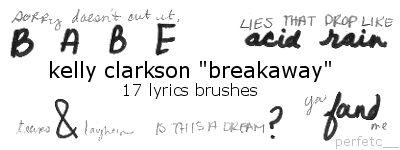 Kelly Clarkson Lyrics