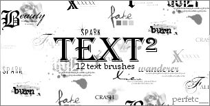 'Text Squared' Brushes