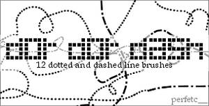 'Dot Dot Dash' Brushes