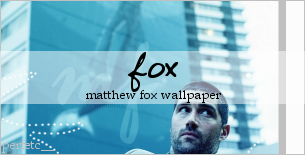 Matthew Fox Wallpaper by perfetc