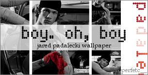 Jared Padalecki Wallpaper by perfetc